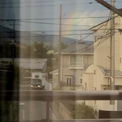 お天気/虹/はじめてフォト投稿 虹🌈
