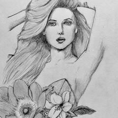 イラスト/絵 絵を描くのが好きなので、たまに人物や想像…