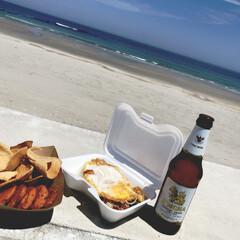 グルメ/フード/おでかけ/タイ料理/ピリ辛/アジアン/... タイフェス🇹🇭 天気も良く、海を目の前に…
