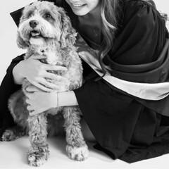 卒業/犬/HERO🐶くん  今年6月に娘が大学を卒業❣️👏🏻( ˊ…(1枚目)