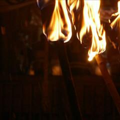 火祭り/蘇民将来/裸参り/正月 冬の思い出  旧正月6日から7日にかけて…(1枚目)