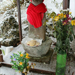 雑穀/郷土料理/祭り/薬師如来 冬の思い出  奥美濃の小さなお堂で毎年行…(2枚目)