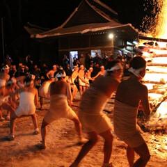 神社/火祭り/裸参り/年末年始 年末年始の覚え書き  元旦から始まるオコ…(4枚目)