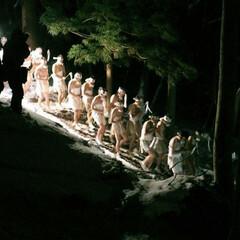 神社/火祭り/裸参り/年末年始 年末年始の覚え書き  元旦から始まるオコ…(1枚目)