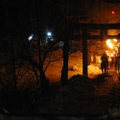 火祭り/蘇民将来/裸参り/正月 冬の思い出  旧正月6日から7日にかけて…(2枚目)