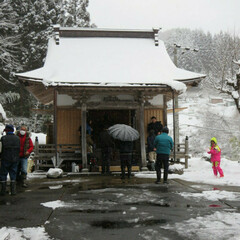 雑穀/郷土料理/祭り/薬師如来 冬の思い出  奥美濃の小さなお堂で毎年行…