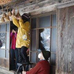 手作り味噌/味噌玉/味噌/秋 茅葺き屋根と藁苞ならではのカビと菌で熟成…(4枚目)