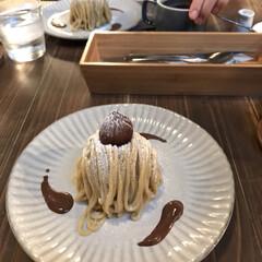 KYOTO KEIZO/至福のモンブラン/スィーツ 賞味期限10分の10分モンブラン(﹡ˆ﹀…