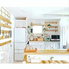 キッチンカウンター解体/キッチンカウンター/カフェ風キッチン/カフェ風インテリア/ナチュラルインテリア/キッチンダイニング/... キッチンカウンターの木材を 解体しました…