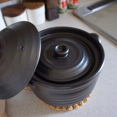 土鍋炊飯/キッチン/台所/IH対応/土鍋ご飯/土鍋 いつもご飯は圧力釜で炊いていましたが、先…(2枚目)