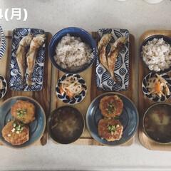 昼食/キッチン/息子飯/昼ごはん/おうちごはん/ランチ 今日の昼ごはん! ・雑穀ごはん ・はたは…