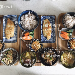 キッチン/昼食/昼ごはん/息子飯/おうちごはん/ランチ 今日の昼ごはん! ・雑穀ごはん ・白身魚…