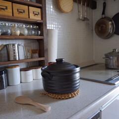 土鍋炊飯/キッチン/台所/IH対応/土鍋ご飯/土鍋 いつもご飯は圧力釜で炊いていましたが、先…(3枚目)