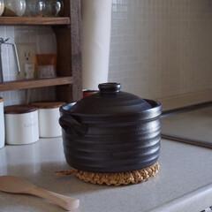 土鍋炊飯/キッチン/台所/IH対応/土鍋ご飯/土鍋 いつもご飯は圧力釜で炊いていましたが、先…(1枚目)