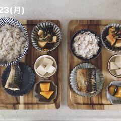 おうちごはん/息子飯/お昼ごはん/キッチン 今日の息子2人昼ごはん! ・雑穀ごはん …