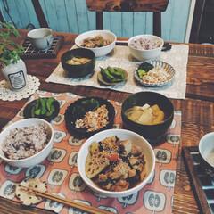 夜ご飯/栄養管理/アスリート飯/料理/晩御飯/おうちごはん いつかの晩御飯! 最近お出汁にこだわって…