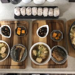 お昼ごはん/息子飯/おうちごはん/キッチン 今日の2人息子の昼ごはん! ・雑穀米おに…