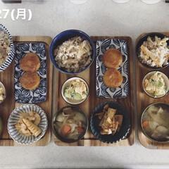 タケノコ料理/息子飯/男子ごはん/お昼ごはん/キッチン/料理/... 今日の昼ごはん! ・たけのこご飯 ・たけ…