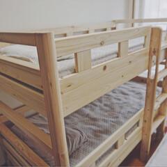 イブル/子ども部屋/寝室/ベッド/二段ベッド 増税前に二段ベッドを購入しましたー!子ど…