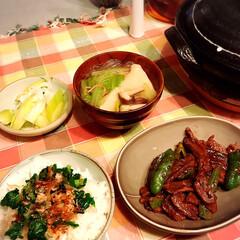 「土鍋で炊いたご飯、食べすぎ注意です(*´…」(1枚目)