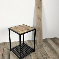 アイアン家具/blooklyn/アイコーデ/i-coord furniture/ブルックリンスタイル/インテリア/... お客様からサイドテーブル下にワインボトル…