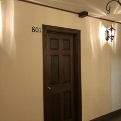 アイアンナンバープレート/お家 壁に何か付けたくって  意味無いけど ル…