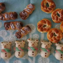 プティポッシュ/クリスマス/パン/フェイク/ミニチュアフード/ミニチュア/... * ちいさなちいさな粘土パンが焼き上がり…(5枚目)