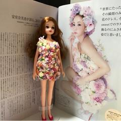 sweet 表紙/樹脂粘土/リカちゃん/人形のお洋服/安室ちゃん/ハンドメイド/... 樹脂粘土の皆さんの作品をヒントにして💡安…