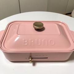 アヒージョ/おうちごはん/B R U N O/わたしのごはん/フード/DIY 2ヶ月ずっと買おうか悩んでいた ピンクの…