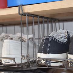 スニーカー/ct70/converse/sneaker/カインズ/カインズホーム/... お気に入りのスニーカーを収納👟