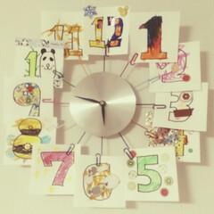 フライングタイガー/令和の一枚/フォロー大歓迎/至福のひととき/LIMIAインテリア部/LIMIA手作りし隊/... GW最後の思い出は、みんなで時計を作った…