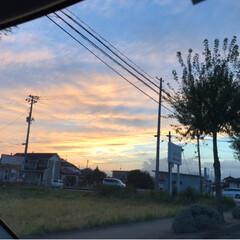 赤/夕陽 キレイだなぁー 下手な写真だけど…どれく…(2枚目)
