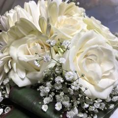 結婚式/ブーケ/幸せ 先日 友達の結婚式でブーケゲットしました…