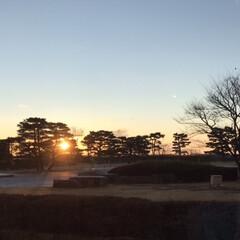 松島/朝日/空  清々しい1日の始まり☆  寒い日の朝の…