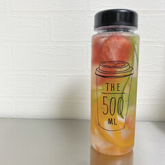熱中症予防/デトックスウォーター/デトックス/100均/節約/セリア/... 健康のために水を飲もう!  にんじん、き…
