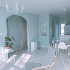 照明/リビングダイニング/IKEAインテリア/IKEA/リビング/家具/... IKEAのチェア、ポエングをお迎え´ ³…