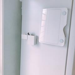 冷蔵庫/無印良品/無印収納/無印/収納/プリント収納 プリント収納♡マグネットつきなので冷蔵庫…(1枚目)