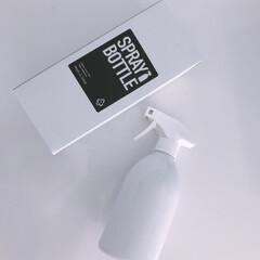 すっきり暮らす/シンプルライフ/シンプルデザイン/スプレーボトル/モノトーン/白黒雑貨 ものとーんのスプレーボトル♡  泡タイプ…