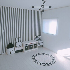 トロファスト/イケア/すっきり暮らす/照明/モノトーンインテリア/モノトーン/... 息子部屋♡ すっかりモノトーンroom♪…