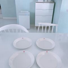 ホワイトインテリア/ティーマ/イッタラ/食器 イッタラのお皿♡コミュニティのプレ企画で…