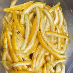 風邪予防/蜂蜜/柚子/グルメ 柚子蜜作って見たけど😱 適当に蜂蜜入れた…