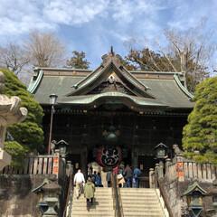 旅行 初の成田山新勝寺😊 とても立派です❗️ …