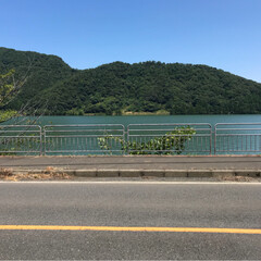 福井県/三方五湖/海/ツーリング/バイク/おでかけ バイクでツーリング 福井県の三方五湖 自…