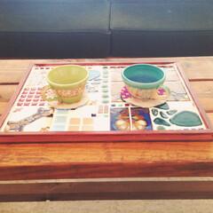 札幌DIY女子/札幌/ワークショップ/ナチュラルインテリア/北欧雑貨/北欧/... DIY【レトロタイルトレイ】 たくさんの…