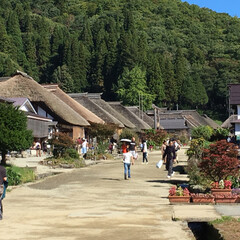 街並み/旅行 福島 大内宿に来ました。 古い街並みと自…(2枚目)