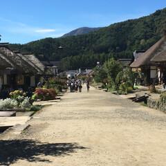 街並み/旅行 福島 大内宿に来ました。 古い街並みと自…(3枚目)