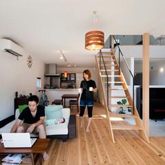 自然素材/無垢材/無垢杉の床/漆喰の壁/白い壁/W断熱の家/... . ~デザイン性だけじゃない  自然素材…
