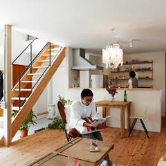 自然素材/無垢材/無垢杉の床/漆喰の壁/白い壁/W断熱の家/... . ~ナチュラル&シンプルに  日々の暮…