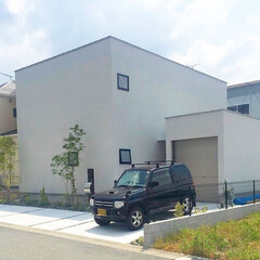 自然素材/無垢杉の床/無垢材/漆喰の壁/白い壁/W断熱の家/... 東京都東村山市の工務店 《土間のあるおし…