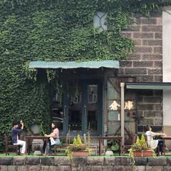 ジジイの徘徊/輪行/一人旅/小樽 定番の運河 この後、本降りの雨(笑)